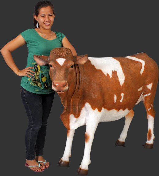 Guernsey Cow (with or without Horns)