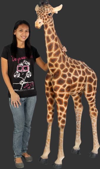 Giraffe Statue 6 Ft. - Click Image to Close