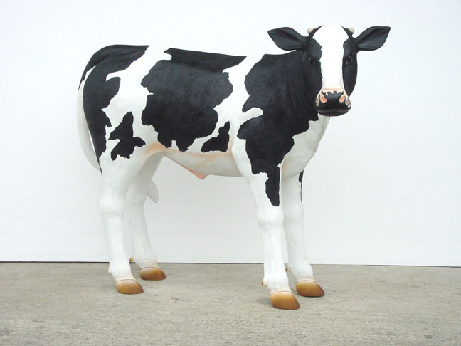 Calf with black spots - Life-like
