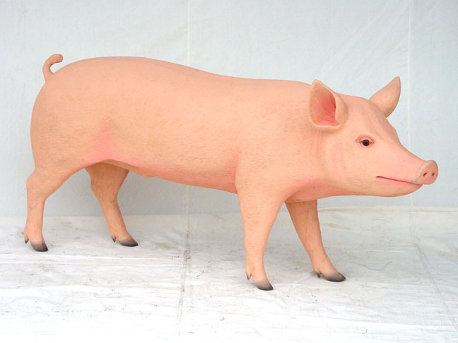 Fiberglass Farm Animals