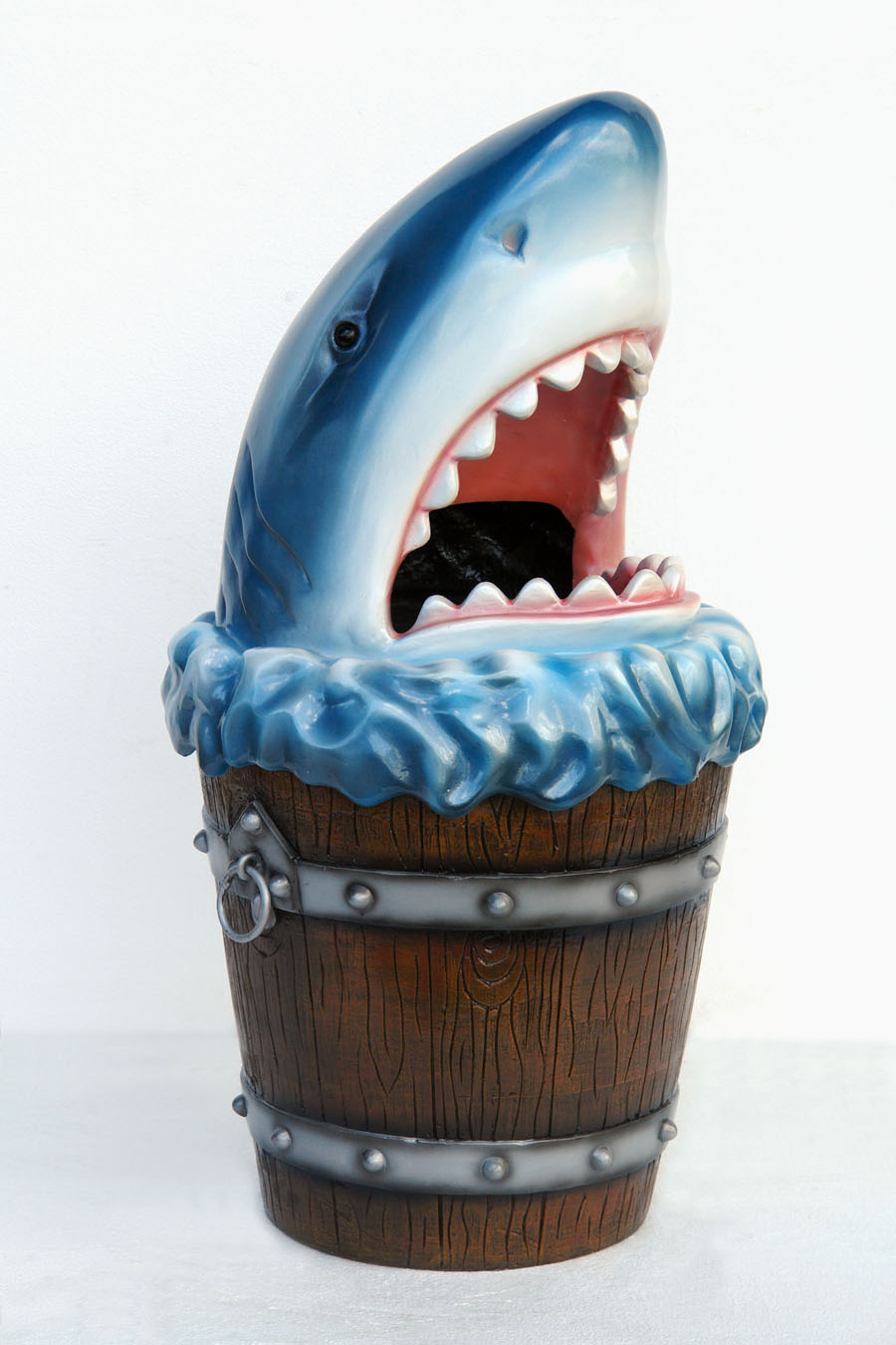 Shark Head Garbage Bin