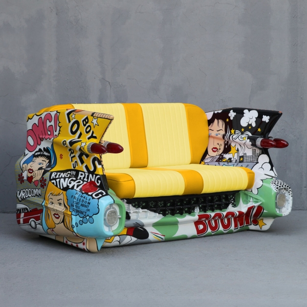 C-Car Couch Pop