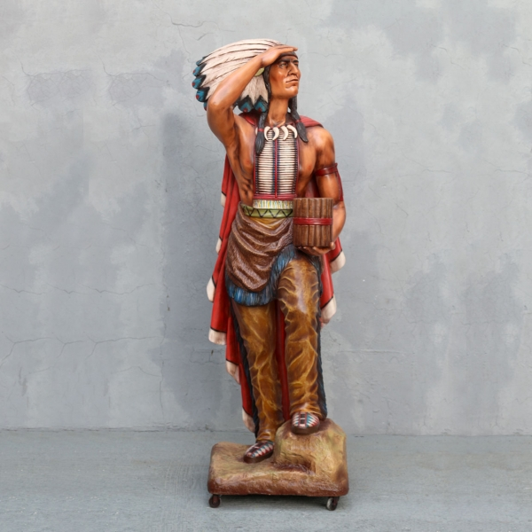 Tobacco Store Indian 6' Tall