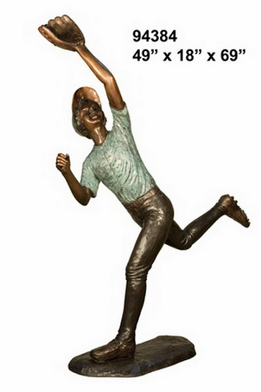 Life Size Bronze Sport Statues Figurines And Sculptures