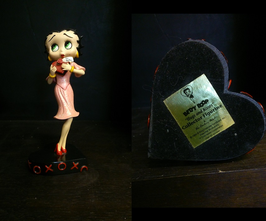 "Betty Boop ""Hugs and Kisses"""