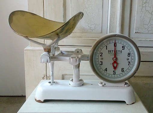 Antique Baby Scale