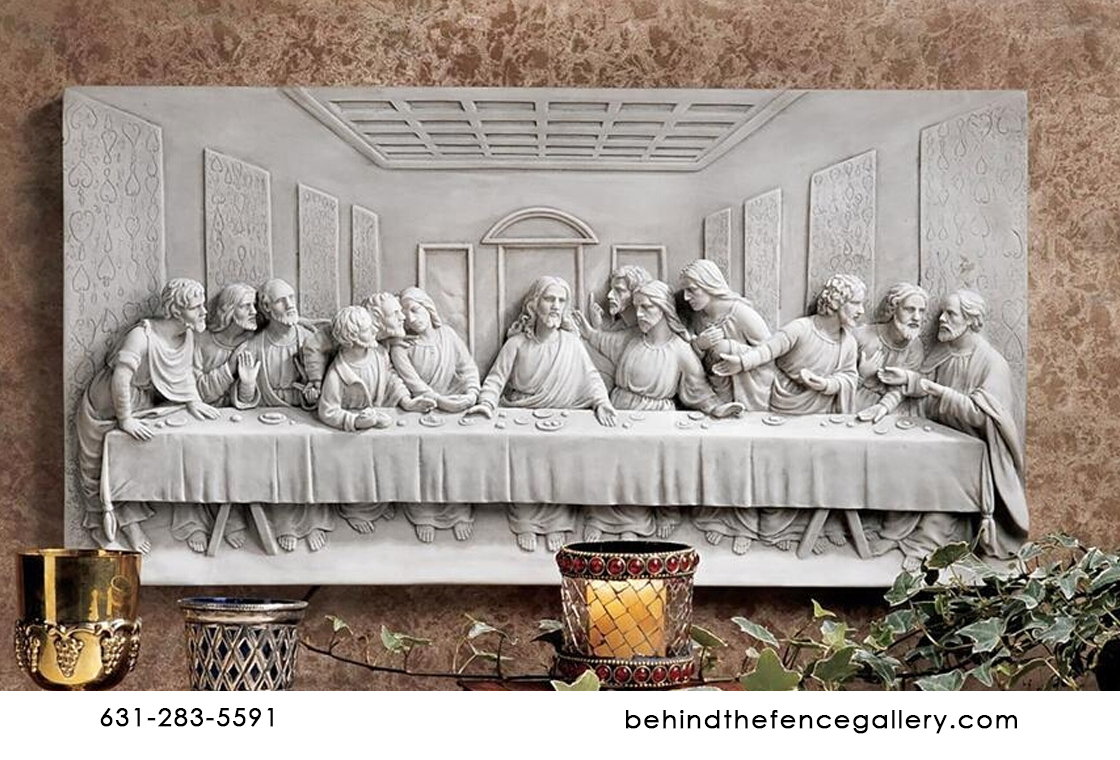 Wall Mounted Easter Last Supper Frieze
