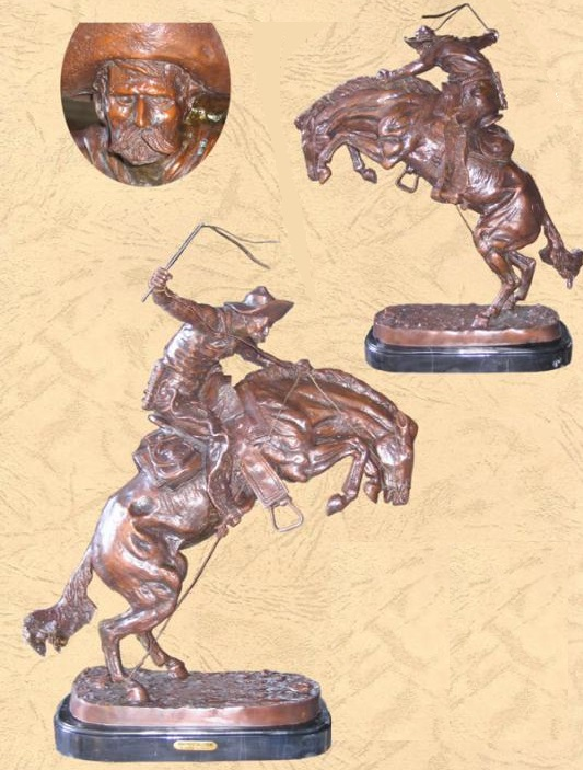"Bronze Bronco Buster ""Remington"""