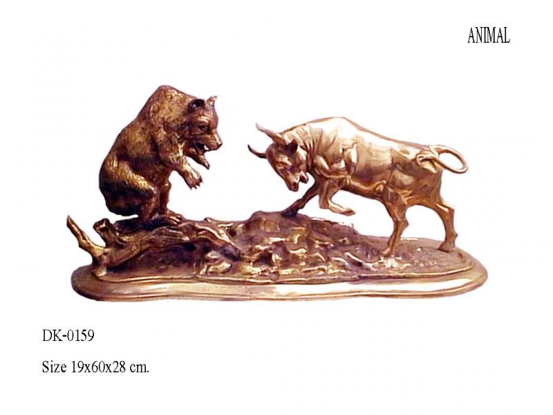Bear Fighting Bull