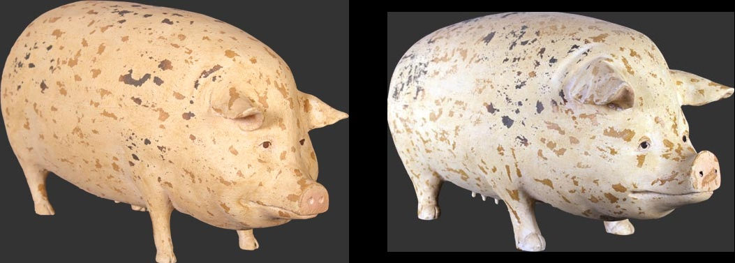 Gloucester Old Spot Pig (Small Size & Large Size) - Click Image to Close