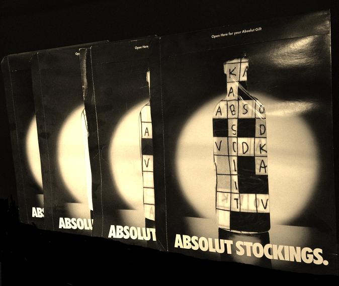 Absolut Vodka Women's Stockings