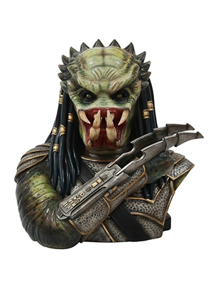 Alien Hunter Statue