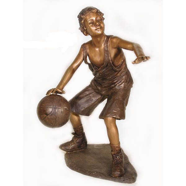 Bronze Basketball Player