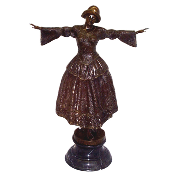 Bronze Flemish Dancer