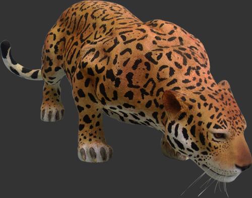 Jaguar Life Size Statue Jaguar / Fiberglass [ANI80110