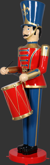 Nutcracker with Drum 9ft