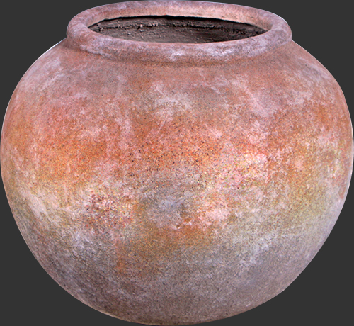 Ancient Jar in Concrete Finish