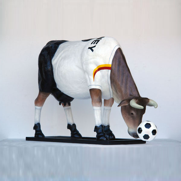 Soccer Cow (with or without Horns)