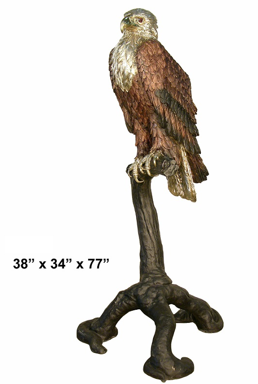Life Size Bronze Eagle Statues Sculptures Amp Figurines