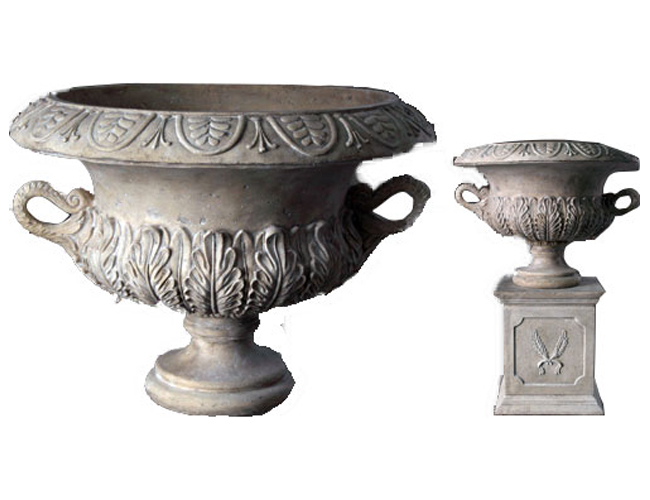 Acanthus Urn on Base