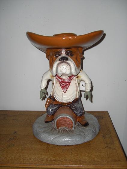Bulldog Cowboy Statue Bulldog Cowboy Statue Fib2080x 5999