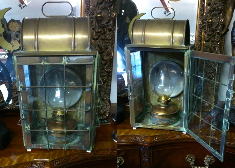 Antique Ships Lantern - Click Image to Close