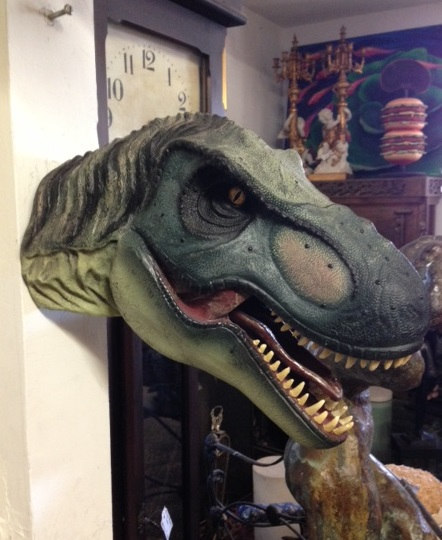 T-Rex Head Wall Mount