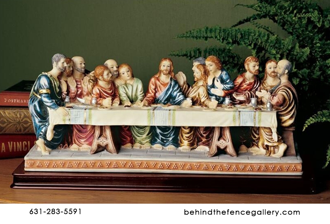 DaVinci Last Supper Tabletop Statue