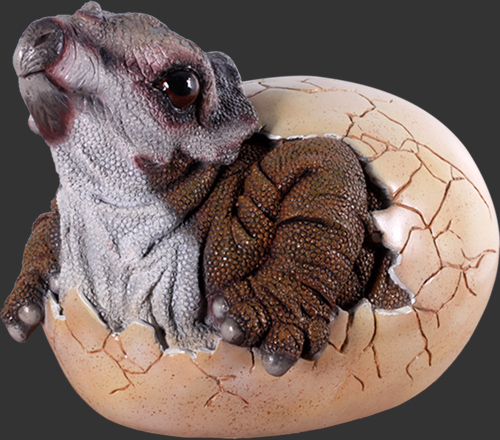 Baby Triceratops Hatching