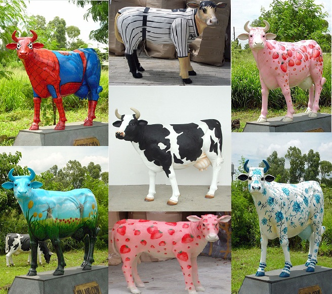 Custom Painted Cows Starting At $1,199.00