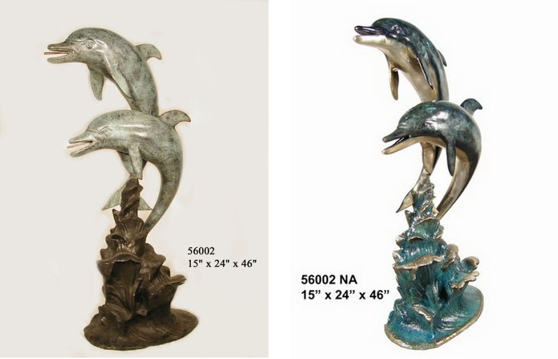 Two Dolphins Fountain (Small)