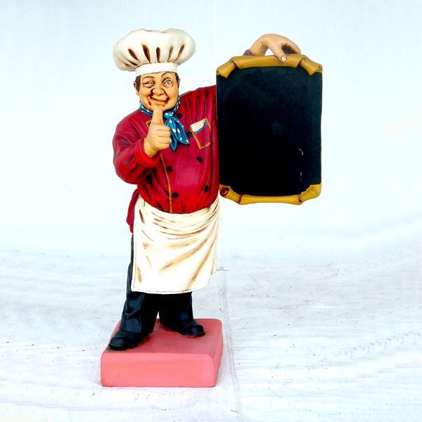 Chef 6ft Statue
