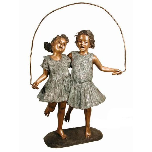 Bronze Two Girl's skipping Rope