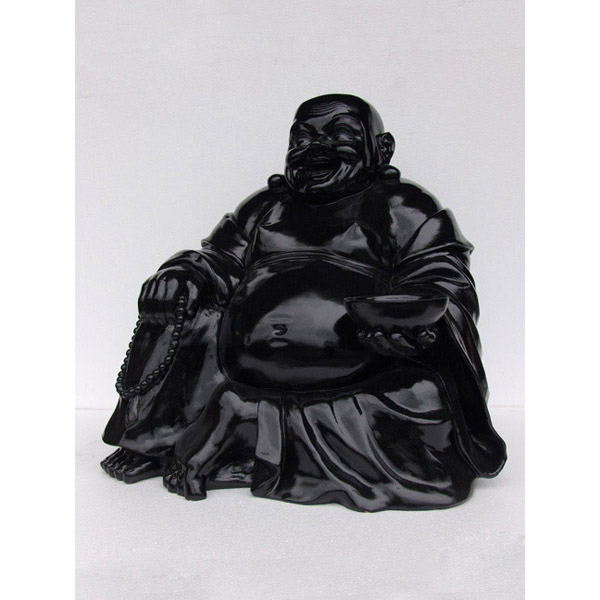 Buddha Sitting-Black